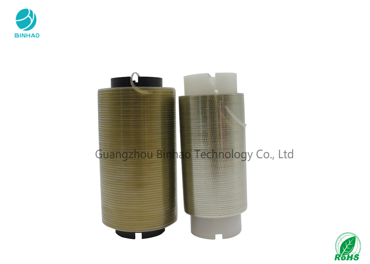 Laser And Micro Printing Holographic Tear Strip Tape Roll For Cigarette And Cosmetics