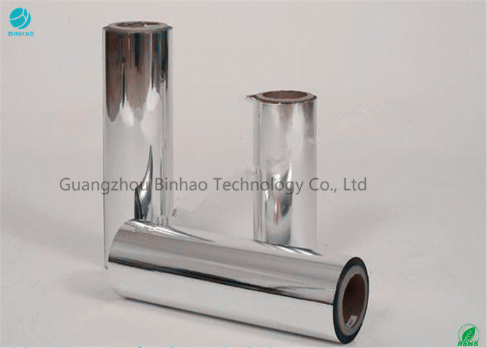 30 - 35 Micron Thickness Mylar Polyester Film / Anti Discrete Aluminum Metallic BOPP Film