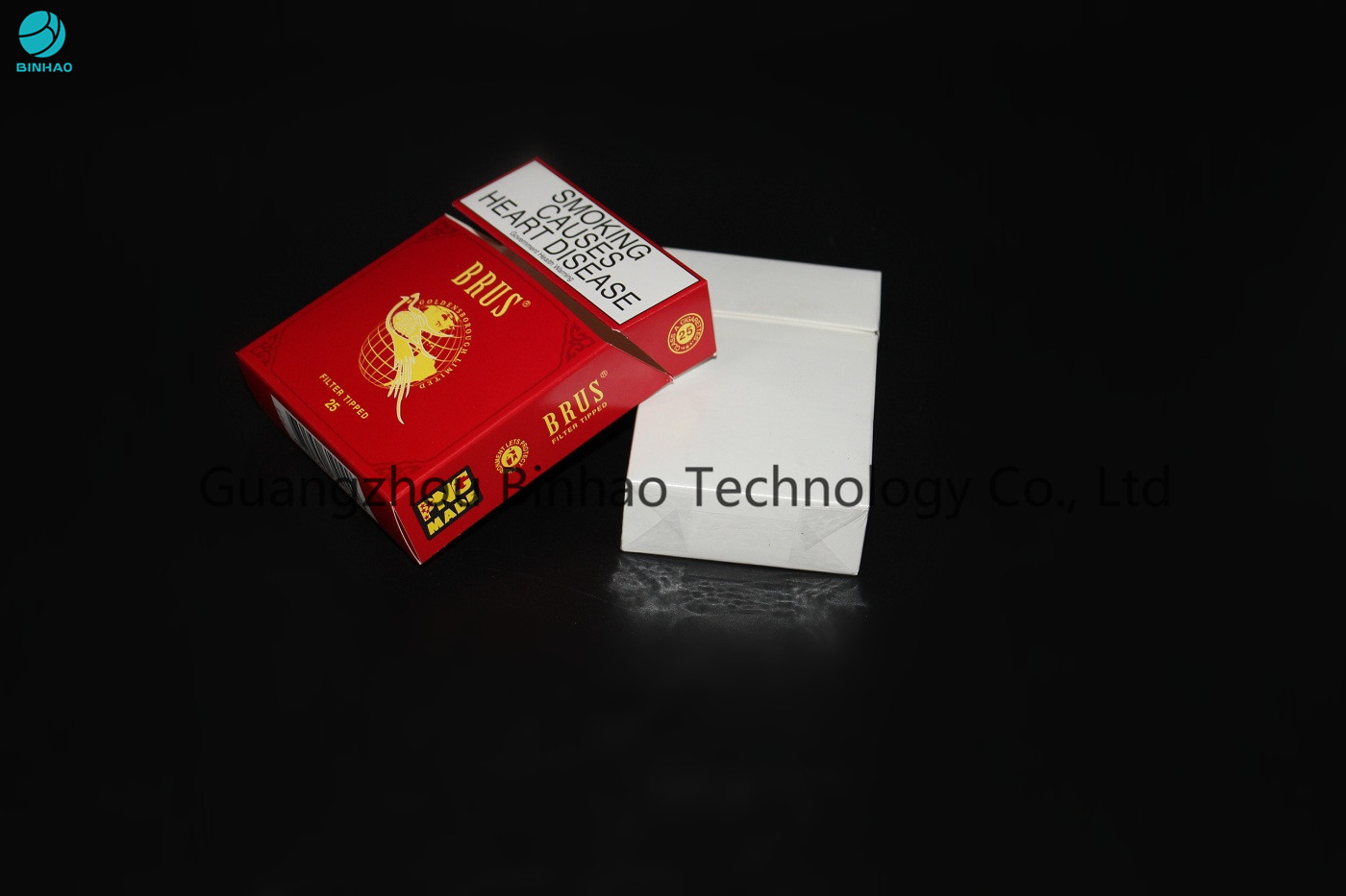 Folding Cigar Box Custom Cigarette Case With Printing  Embossing