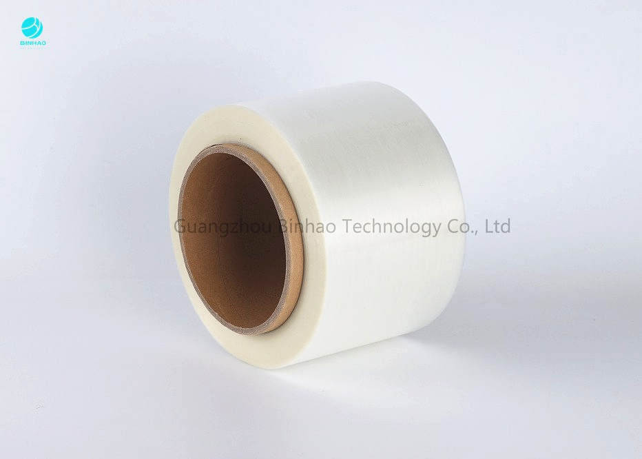 Colorful Jumbo Roll Easy Open Tear Strip Tape For Tobacco High Speed Packing Machine In 152mm Core