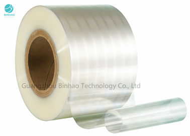 Shrink BOPP Film Roll 100% Compostable Biaxially - Oriented Polypropylene Film For Cigarette Package