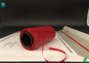 Red Envelope Tear Strip Tape / Hot Melt Adhesive Tearable Packing Tape