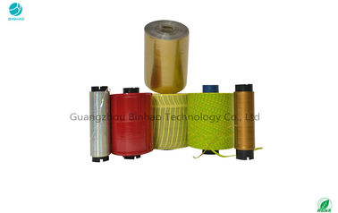 Colorful Cigarette / Tobacco Tear Tape For Sealing And Opening Packaging Film