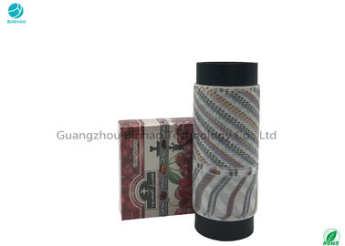 Logo Printed Tobacco Tear Tape For Cigarette / SHISHA / Molasses Outer Packaging In 5mm​ Width