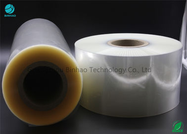 Clear Pvc Naked Box Packing Film In Good Shrinkage Waterproof Excellent Grease Barrier