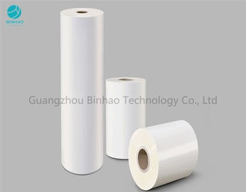 Size Customized Glossy Pvc Naked Box Packing Film For Candy Cigarette Box Overwrapping