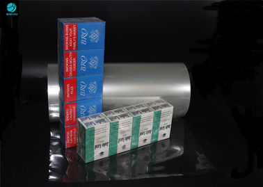High Transparency PVC Packaging Film For Naked Cigarette Box Wrapping No Static Electricity