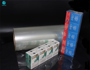 PVC Packing Wrapping Film For Naked Cigarette Box Wrapping Replace Outer Box