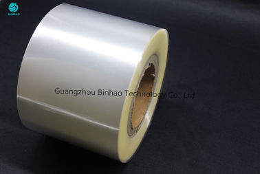 High Transparency 120mm BOPP Film Roll For Medicine , Cigarette Box Packaging