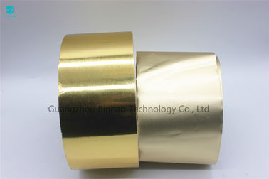 Anti Water Aluminium Foil Paper Printed And Coated Gold Silver  Laminated  In 55g