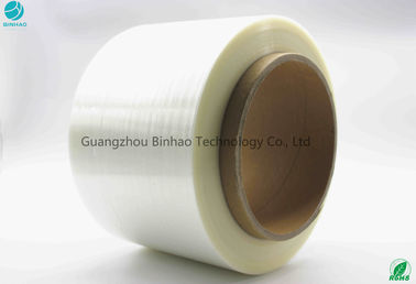 China Big Roll High Tension Force BOPP Tear Tape For High Speed Machine Inner Core 152mm factory
