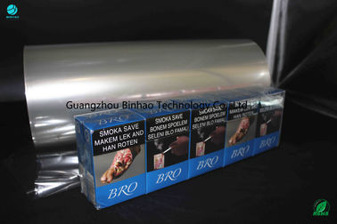 China Brilliant Abrasion Resistance PVC Packing Film Roll For Naked Cigarette factory