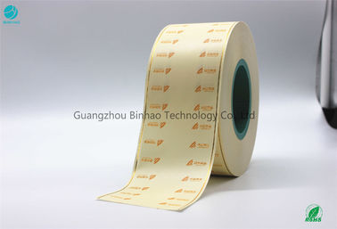 China IS09001 Tobacco Filter Paper Ornamental Function Tipping Paper Opacity ≥78% factory