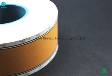China Air - Smoke Mixture Cooled Cork Tobacco Filter Paper / Wood Base Tipping Paper factory