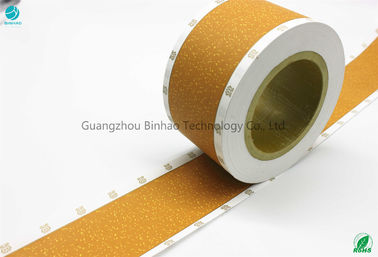 China Rolling Shape 64mm Width Tobacco Filter Paper Cork Colour Perforation 2000 CU Tipping Paper factory