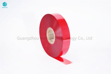 China 30mm Width Red Cheese Packaging Tear Strip Tape In PET Film No Glue Food Grade factory