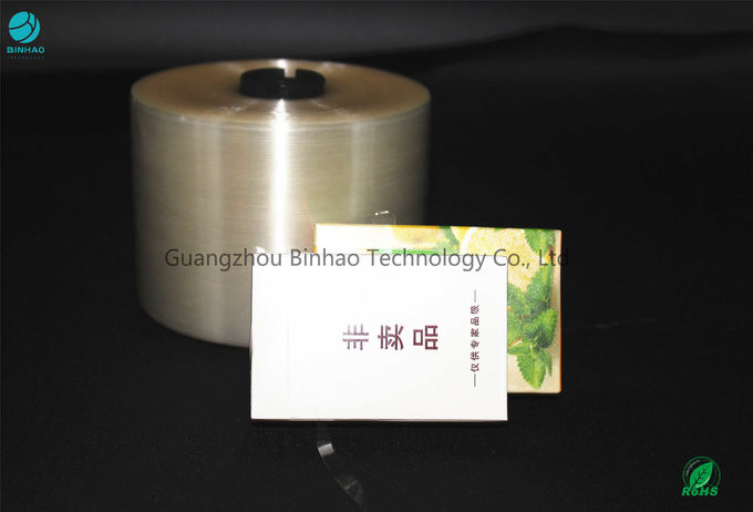 Diversified Function Tear Strip Tape Package Materials For Tobacco / Cosmetic
